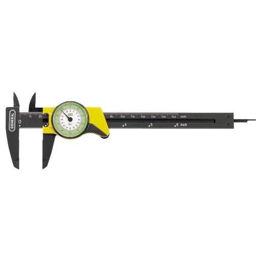 General Tools Plastic 6 In. Caliper